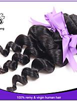 7A Indian virgin loose wave hair 3pcs lot Unprocessed loose hair bundles Cheap loose wave hair weave extensions