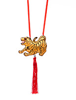 China Hand Embroidery Pendant--Twelve Zodiac Tiger Plane