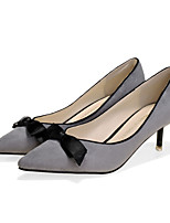 Women's Shoes  Low Heel Heels/Pointed Toe/Closed Toe Pumps/Heels Dress/Casual Black/Red/Silver/Gray/Animal Print