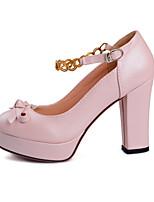 Chaussures Femme Similicuir Talon Aiguille Talons Escarpins / Talons Habillé/Soirée & Evénement Rose/Violet/Blanc