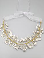 Collier Anniversaire/Mariage/Engagement/Sorée Cristal/Imitation de perle Alliage/Imitation de perle Femme