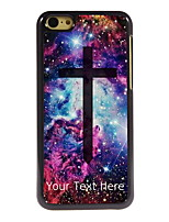 Personalized Gift The Cross Design Aluminum Hard Case for iPhone 5C