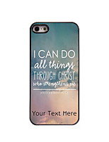 Personalized Gift I CAN DO Design Aluminum Hard Case for iPhone 4/4S