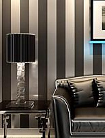 contemporaine papier peint stripe 0.53m * 10m revêtement mural art non-tissé mur de papier