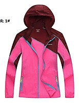 Outdoor Women's UV and Sunprotection Thin Waterproof Windbreaker