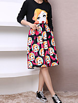 Women's Vintage Medium Knee-length Skirts (Others)