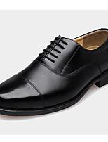 Men's Shoes Casual Leather Oxfords Black