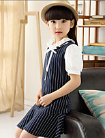 Girl's Summer Casual/Cute Stripe Dresses