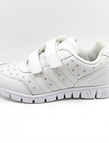 Girls' Shoes Casual Round Toe Synthetic Flats White
