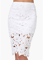 FOREVER LOVE®Women's New Fashion OL Summer Bodycon Casual Sexy Lace Skirts