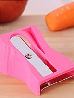 морковь огурец точилка нож тонкими ломтиками инструмент кухни овощей фруктов слайсер случайный цвет