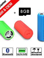 besteye® 8GB TF-kaart mini draagbare sport bluetooth speaker waterdicht, dropproof / schokbestendig draadloze luidsprekers