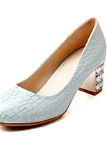 Women's Shoes Low Heel Heels/Pointed Toe Sandals Office & Career/Dress/Casual Blue/Pink/White