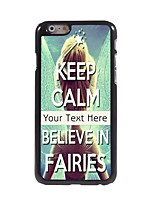 Personalized Gift Believe in Fairies Design Aluminum Hard Case for iPhone 6