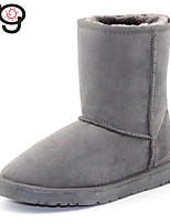 MG Womens Classic Twinface Sheepskin Boot Winter Snow Real Fur Boots