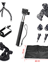 10-In-1 Hot Outdoor Sports Camera Accessories Kit For GoPro Hero 4/3+/3/2/1, Smartphone & Other Sports Camera