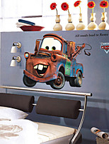 Wall Stickers Wall Decals, Cartoon Cars Mater PVC Wall Stickers