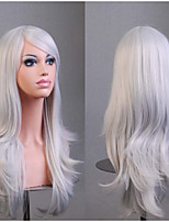 Women's Fashion Cosplay Long Wave Hair Synthetic Wig