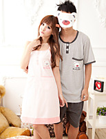 Lady Suzel summer dress cute cartoon T-shirt cotton pajamas casual clothing Home Furnishing