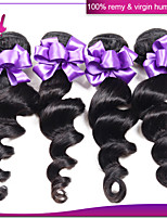 Malaysian Loose Wave 3 Bundles Lot Malaysian Virgin Hair 6A Unprocessed Malaysian Hair Weave Bunldes Loose Wave