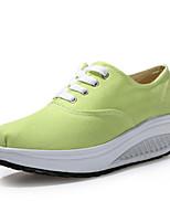 Zapatos de mujer Tela Tacón Cuña Cuñas/Plataforma/Zapatos de Cuna Zapatos de Deporte Exterior/Oficina y Trabajo/Casual