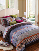 100% Cotton The Duke of Windsor 4 Pieces Bedding Set