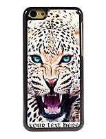 - für iPhone 5c - modern/Karton/Spezielles Design/Sport/Totenschädel/Leopard Muster - Plastik/Metall - Mehrfarbig