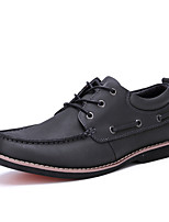 AQUATWO Men's Shoes Comfort Leather Boat Shoes