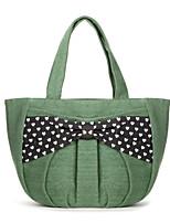 WEST BIKING® 2015 Korean Fashion Casual And Simple Green Canvas Shoulder Handbags