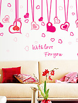 Wall Stickers Wall Decals Style Love Rope PVC Wall Stickers