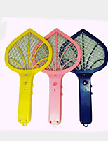 Lighting Batteries With New Mini Mosquito Mosquito Racket(Assorted Color)
