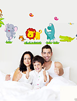 Wall Stickers Wall Decals, Cartoon Animals Stickers