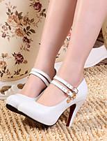 Chaussures Femme Similicuir Talon Aiguille Talons Escarpins / Talons Mariage/Habillé/Soirée & Evénement Bleu/Rose/Blanc
