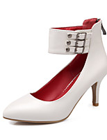 Women's Shoes Stiletto Heel Heels/Pointed Toe/Closed Toe Pumps/Heels Wedding/Party & Evening/Dress Black/Red/White