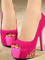 Women's Shoes Sexy Stiletto Heel Heels/Peep Toe Pumps Wedding/Party