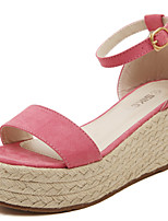 Women's Shoes Velvet Wedge Heel Platform Sandals Party More Colors available