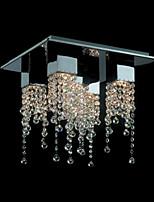 Chandeliers/Track Lights Crystal Modern/Contemporary Living Room/Bathroom/Study Room/Office/Kids Room Metal