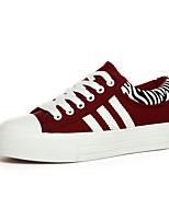 Scarpe Donna Di corda Piatto Creepers/Punta arrotondata Ballerine/Sneakers alla moda Ufficio e lavoro/Casual Rosso