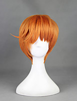 Touken Ranbu Iwatooshi Orange 30cm Cosplay Wigs