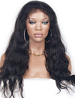 2015 New Arrival Lace Wig 1b Color Natural Wavy Synthetic Lace Front Wig for Black Women