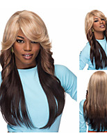 Fashion Synthetic wigs for women Long wavy layered hair African americans wigs with bangs