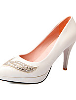 Women's Shoes Synthetic/Patent Leather/Leatherette Stiletto Heel Heels/Round Toe/Closed Toe Pumps/HeelsParty &