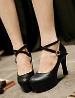 Women's Shoes  Stiletto Heel Heels Pumps/Heels Office & Career/Dress Black/Blue/Pink/White