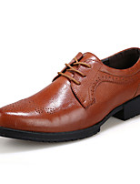 Men's Shoes Wedding Oxfords Black/Brown/Burgundy