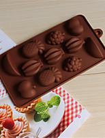 bakeware frutta stampo biscotti stampo stampi da forno cioccolato muffa del ghiaccio