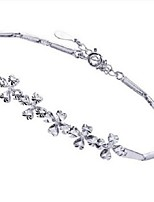 Volcano The Original Silver Bracelet with Fashion Jewelry Gifts ST0001 Clovers