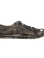 Zapatos de mujer - Tacón Plano - Comfort - Sneakers a la Moda / Zapatos de Deporte - Exterior / Casual / Deporte - Tela - Gris