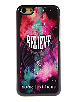 Personalized Gift The Believe Design Aluminum Hard Case for iPhone 5C