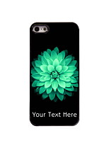 Personalized Gift Beautiful Flower Design Aluminum Hard Case for iPhone 5/5S