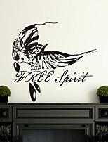 pegatinas etiquetas de la pared, las aves modernas personalizados pintados a mano mosca pvc pegatinas de pared